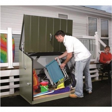 Trimetals STOWAWAY STORAGE UNIT GREEN